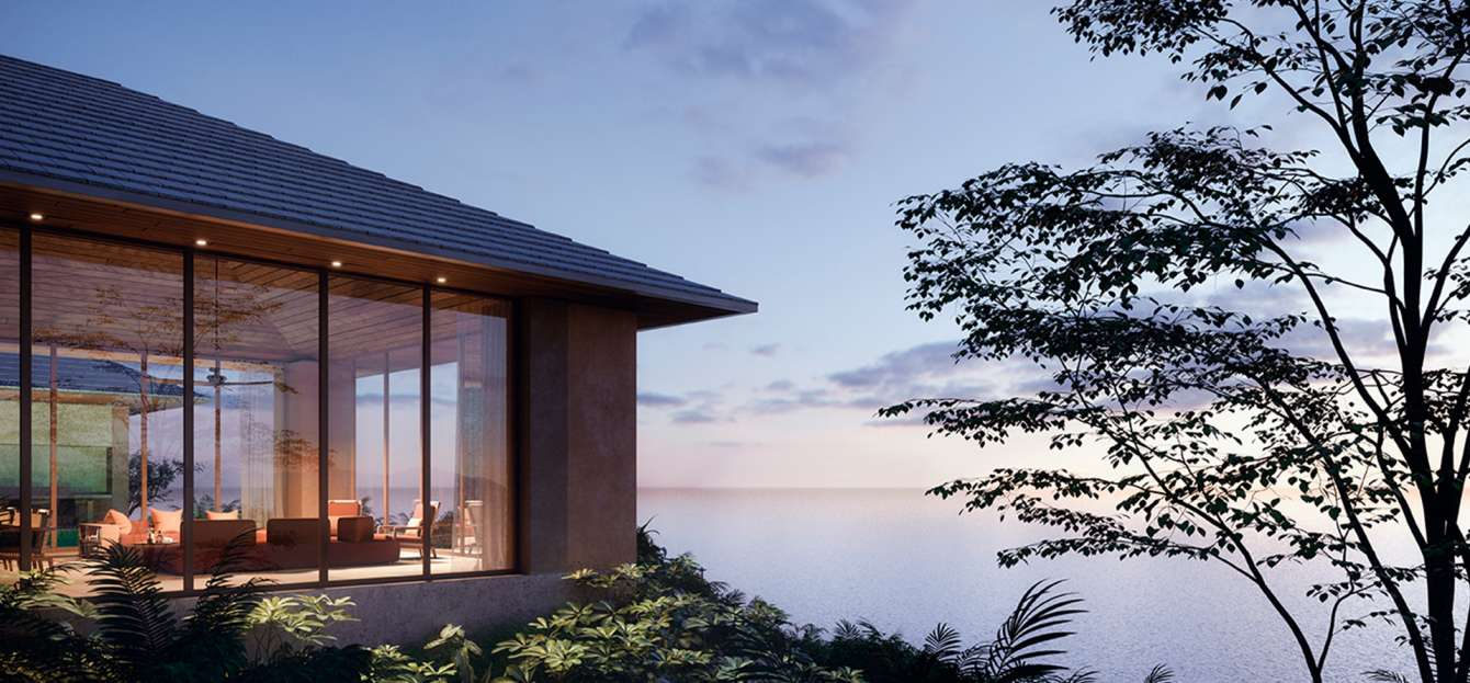 oceanfront-villa-at-sunset